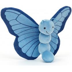 NIEBIESKI MOTYLEK przytulanka Breezy Butterfly Iris 23 cm
