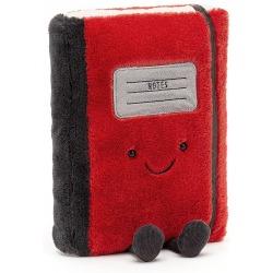 NOTES czerwona przytulanka Smart 25 cm