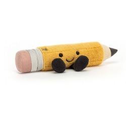OŁÓWEK żółta przytulanka Smart 7 cm