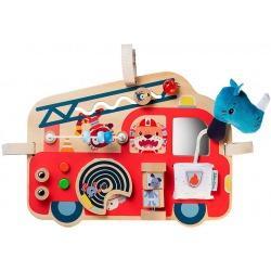 NOSOROŻEC MARIUS wóz strażacki drewniana tablica manipulacyjna