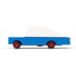 BLUE RACER drewniany samochód