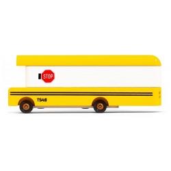 SCHOOL BUS drewniany autobus