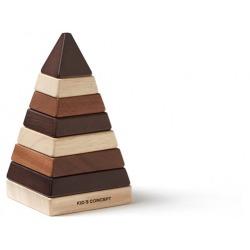 NEO drewniana piramidka do układania