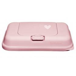RÓŻOWY POJEMNIK na chusteczki To Go Pink Little Heart