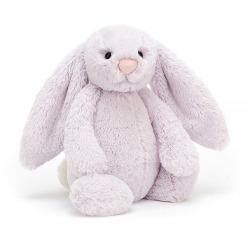 KRÓLICZEK fioletowa przytulanka Bashful Lavender Bunny 31 cm