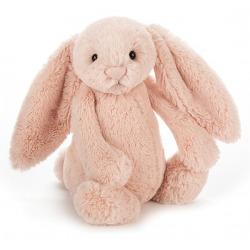 KRÓLICZEK różowa przytulanka Bashful Blush Bunny 18 cm