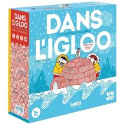 W IGLO tekturowe puzzle progresywne Dans L'Igloo