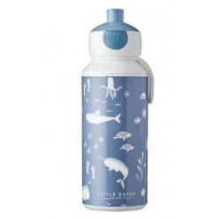 BUTELKA bidon z ustnikiem 400 ml Ocean Blue