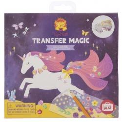 JEDNOROŻCE zestaw kreatywny Transfer Magic