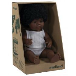 AFROAMERYKANKA lalka dziewczynka 38 cm