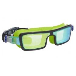 ELECTRIC 80s limonkowe okulary do pływania