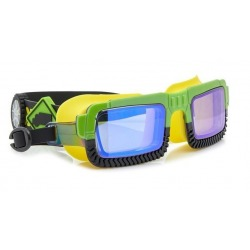 NORRIS żółto-zielone okulary do pływania