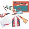PAPIEROWE SAMOLOTY zestaw origami