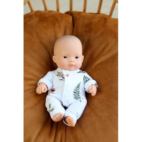 FOREST bawełniana piżamka dla lalki 21 cm