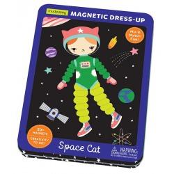 KOSMICZNY KOTEK magnetyczne postaci układanka ubieranka