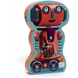 ROBOT BOB tekturowe puzzle 36 el.