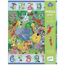 DŻUNGLA puzzle tekturowe gigant 54 el.
