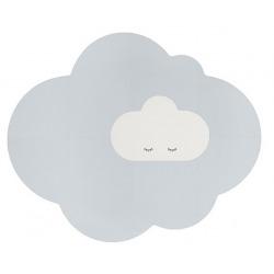 CHMURKA duża piankowa mata podłogowa Playmat Pearl Grey