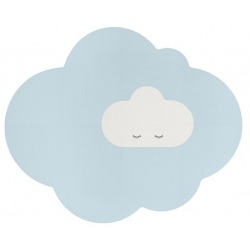 CHMURKA duża piankowa mata podłogowa Playmat Dusty Blue
