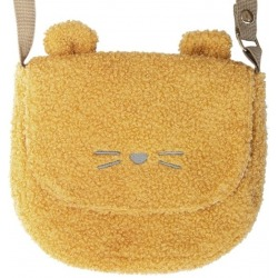 BILLIE BEAR MINI SATCHEL BAG żółta torebka