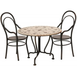METALOWY STOLIK z krzesłami
