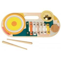 BEATS TO GO drewniany instrument wielofunkcyjny
