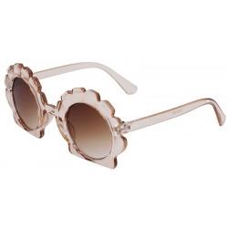 MUSZELKA okularki przeciwsłoneczne dla dzieci 3-10 lat Shelly Tea