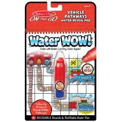 POJAZDY wodna kolorowanka z zadaniami WATER WOW