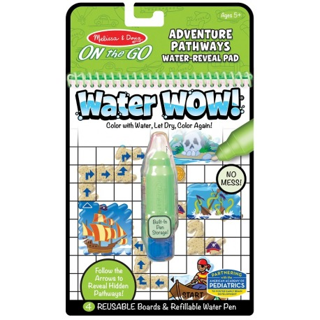 PRZYGODA wodna kolorowanka WATER WOW