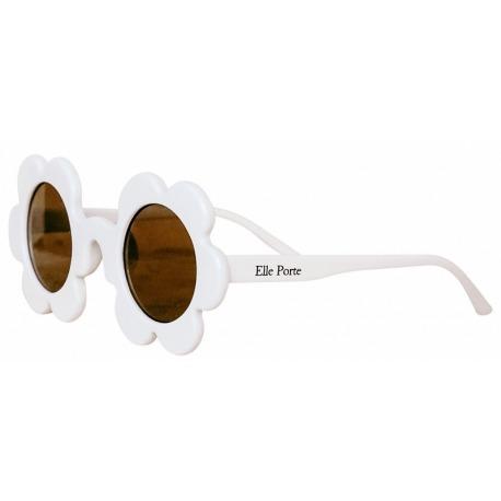 KWIATKI okularki przeciwsłoneczne dla dzieci 3-10 lat Bellis Mashmallow