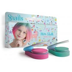 JEDNOROŻEC zmywalne kredy do włosów 2 kolory Hair Chalk