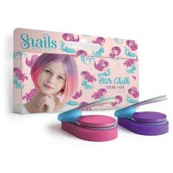 SYRENKA zmywalne kredy do włosów 2 kolory Hair Chalk