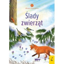 ŚLADY ZWIERZĄT Młodzi przyrodnicy książeczka dla dzieci