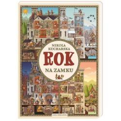 ROK NA ZAMKU książka w twardej okładce Nikola Kucharska