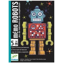 ROBOTY gra karciana pamięciowa