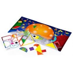 KOSMOS zwariowany tangram gra magnetyczna