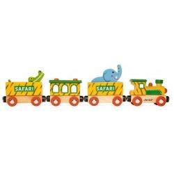 SAFARI drewniany pociąg Story