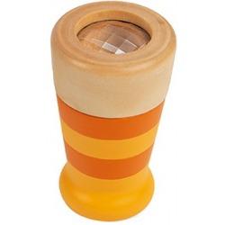 DREWNIANY KALEJDOSKOP pomarańczowy Pocket