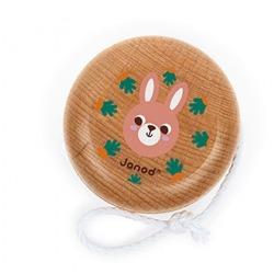 KRÓLICZEK drewniane jojo Pocket