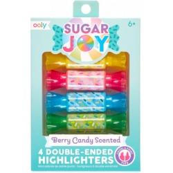 CUKIERKI pachnące zakreślacze z dwoma końcówkami Sugar Joy