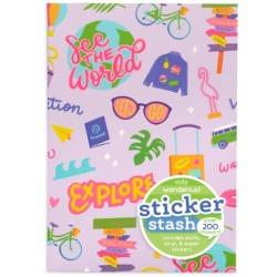WAKACJE zestaw naklejek 200 szt. Sticker Stash