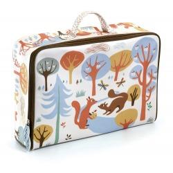 WIEWIÓRKA bawełniana walizka