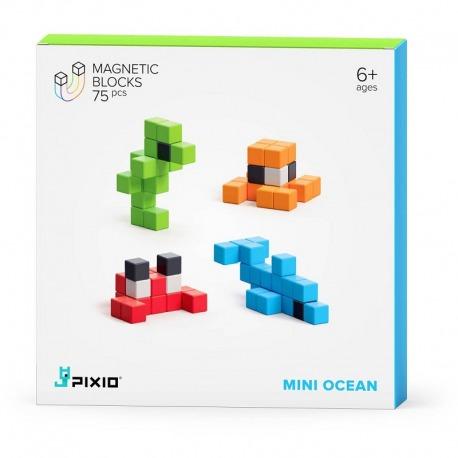 MINI OCEAN klocki magnetyczne 75 szt. Story Series