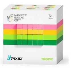 TROPIC klocki magnetyczne 60 szt. Abstract Series