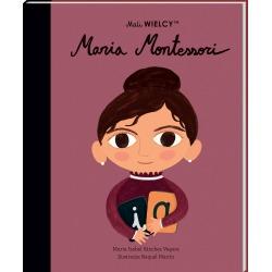 MARIA MONTESSORI Mali Wielcy książka Maria Isabel Sanchez Vegara