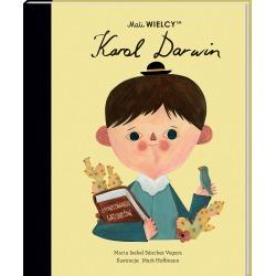 KAROL DARWIN Mali Wielcy książka Maria Isabel Sanchez Vegara