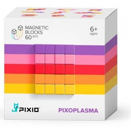 PIXOPLASMA klocki magnetyczne 60 szt. Abstract Series