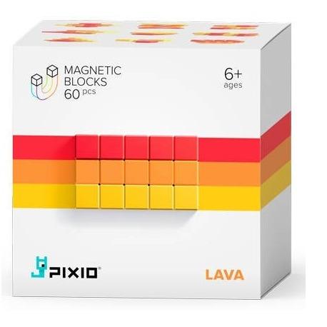 LAVA klocki magnetyczne 60 szt. Abstract Series