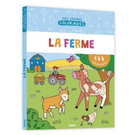 NA FARMIE duża kolorowanka 144 strony