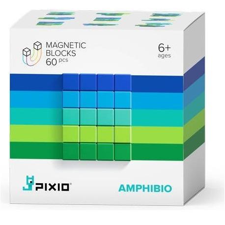 AMPHIBIO klocki magnetyczne 60 szt. Abstract Series